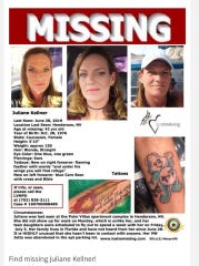 Juliane Kellner missing poster