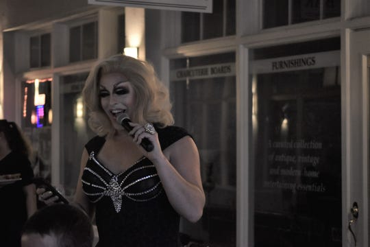 As drag queen Alyssa LeMay, Andy Spaulding hosts drag queen bingo events at The Standard Restaurant and other local venues.
