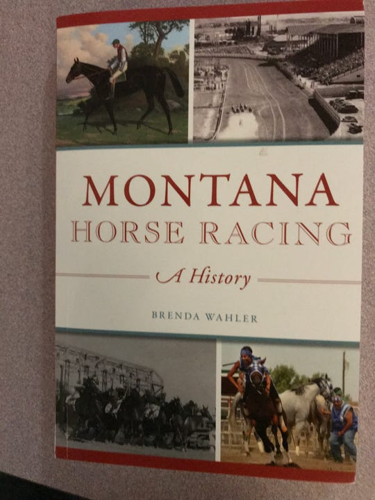Helena attorney Brenda Wahler, a Great Falls native whose Montana heritage dates back several generations, will be selling copies of her new book at this year's State Fair Race Meet.