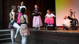 Camp Riley at Bradford Woods has added a new pilot adaptive ballet program for differently abled children on Wednesday, July 17, 2019.