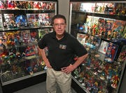 "Hall of Heroes Superhero Museum founder Allen Stewart's love of superheros started when he was a kid watching the old ""Batman"" series and ""Super Friends."" That passion formed the start of his museum in his backyard in Elkhart."