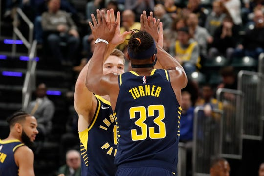 Myles Turner and Domantas Sabonis give the Pacers options in the frontcourt.