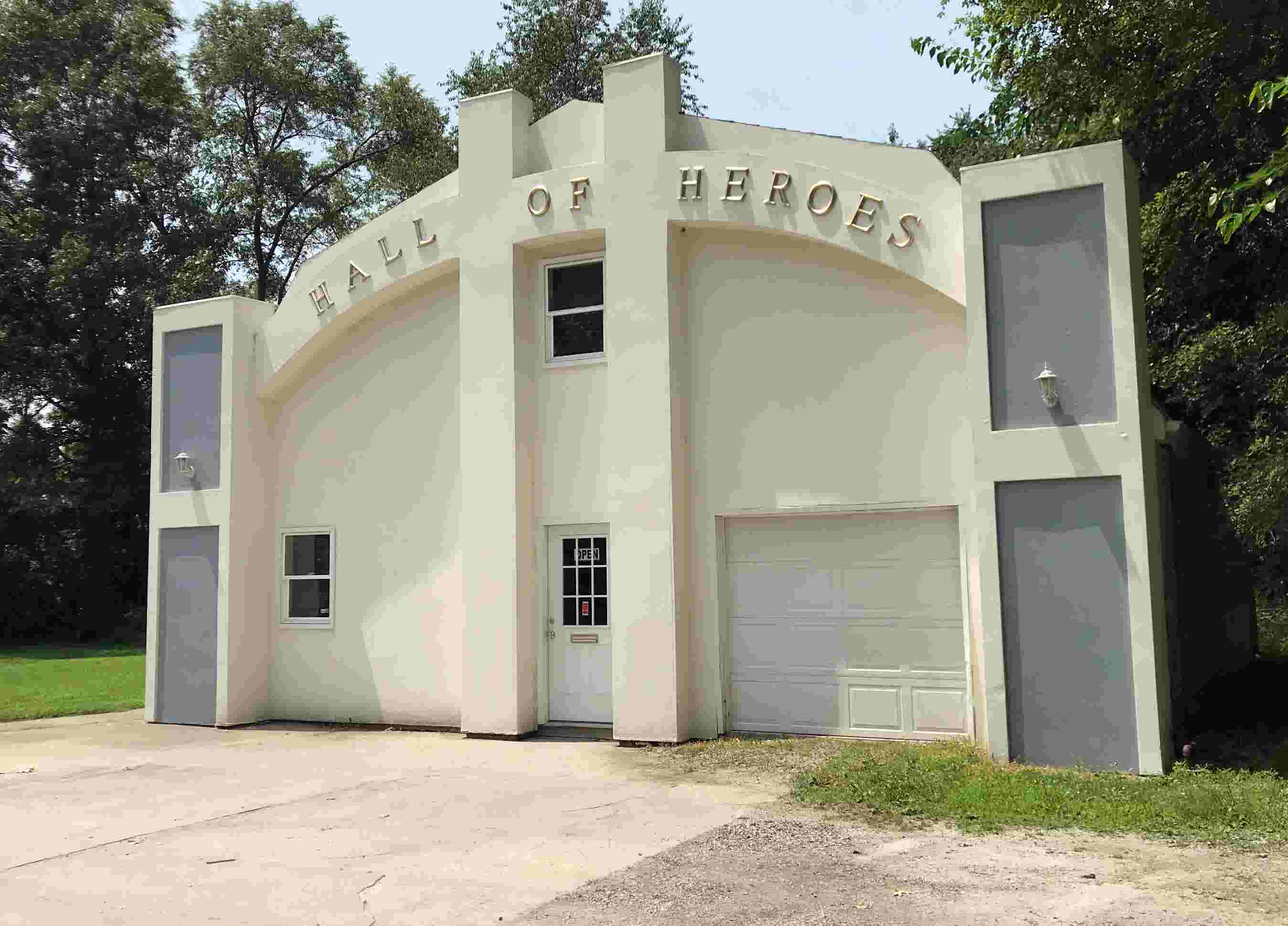 The world's only superhero museum sits (but not for long) in an Indiana backyard