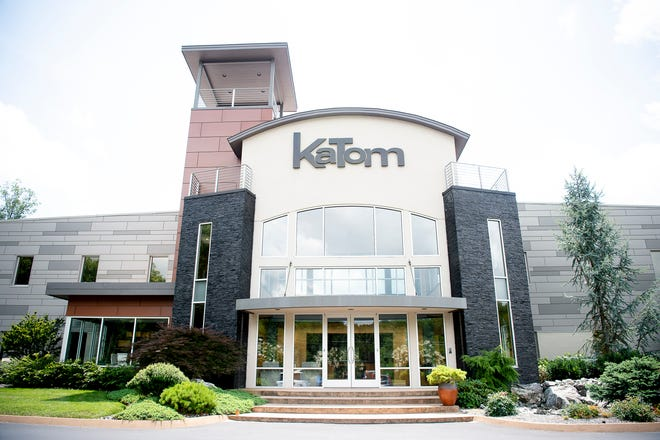 KaTom company offices are at 305 KaTom Drive in Kodak, Tenn.