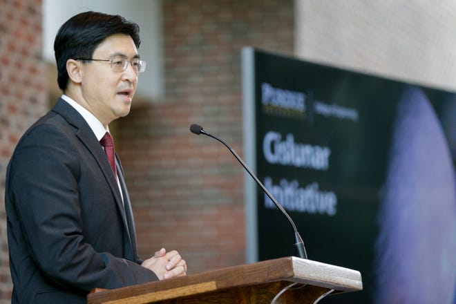Beginning Dec. 15, Purdue Engineering Dean Mung Chiang will spend a year in Washington, D.C. as the Science and Technology Adviser to the Secretary of State.