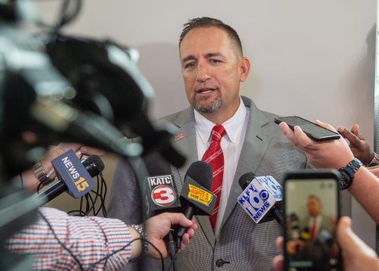 New UL baseball coach Matt Deggs will make $350,000 per season in base pay.