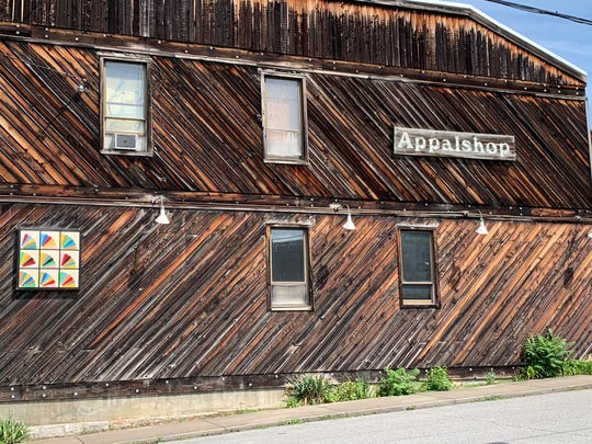 Appalshop, an arts, culture, and media education center nearing its 50th year in Whitesburg, Kentucky.