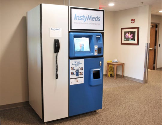 InstyMeds machine at Holy Family Memorial hospital in Manitowoc.
