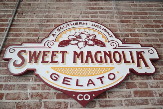 Sweet Magnolia Gelato inside the Puck Food Hall on Thursday, July 18, 2019.