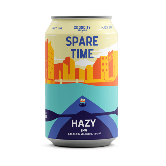 Good City will add Spare Time, a lower-alcohol hazy IPA to its regular rotation.