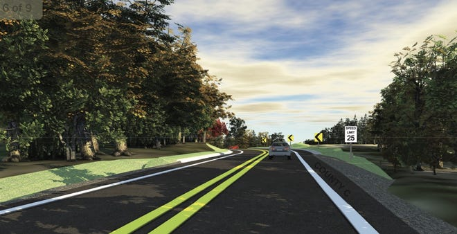 The Waukesha County Department of Public Works has proposed a safety improvement project on Highway C in the Village of Chenequa and Town of Merton.