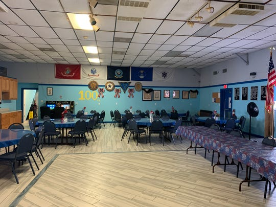 Renovations to the American Legion Post 135 included a new floor and other repairs.