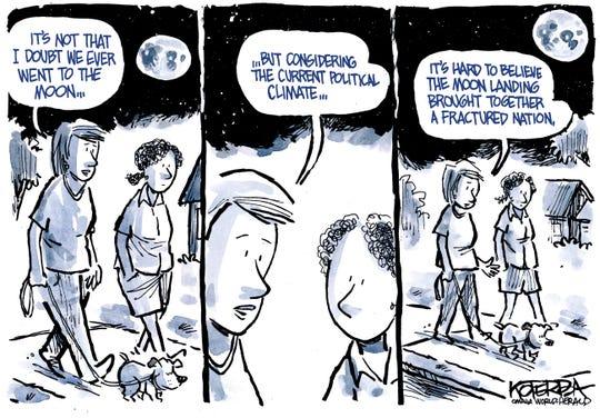 Moon landing reunified America.
