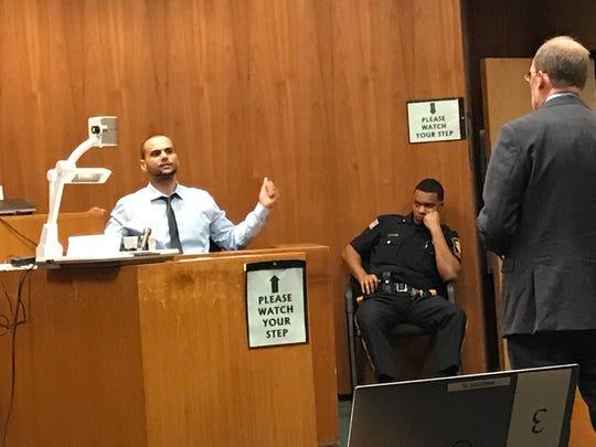 """I was scared,"" Damien Edwards said during testimony on Thursday."