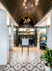 Interior photo of Osteria Crescendo in Westwood on Thursday July 18, 2019.