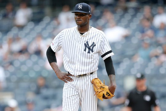 new concept fc3d0 d5340 Domingo German will not pitch again this season for New ...