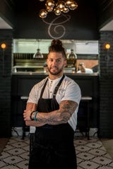 Robbie Felice, the Chef/Partner of Osteria Crescendo in Westwood on Thursday July 18, 2019.