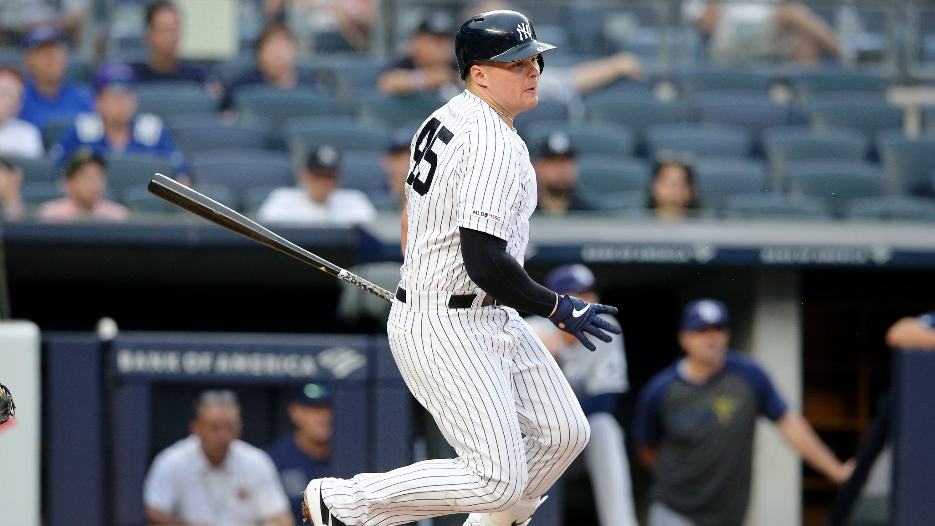 best service 68de2 da7e6 Why New York Yankees dropped Luke Voit in lineup against Rays
