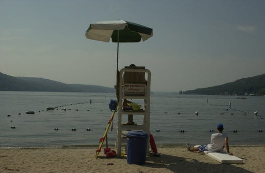 Greenwood Lake Public Beach opened on July 4 and has only been a success on the New York side.