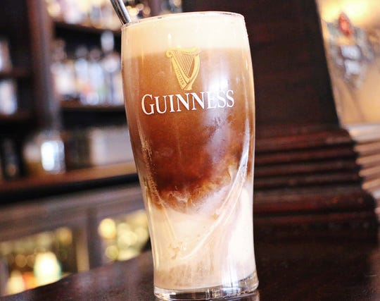 The Shannon Rose Irish Pub will offer Guinness floats on National Ice Cream Day.
