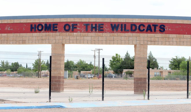 Site of the old Deming High School will be home to a baseball field.