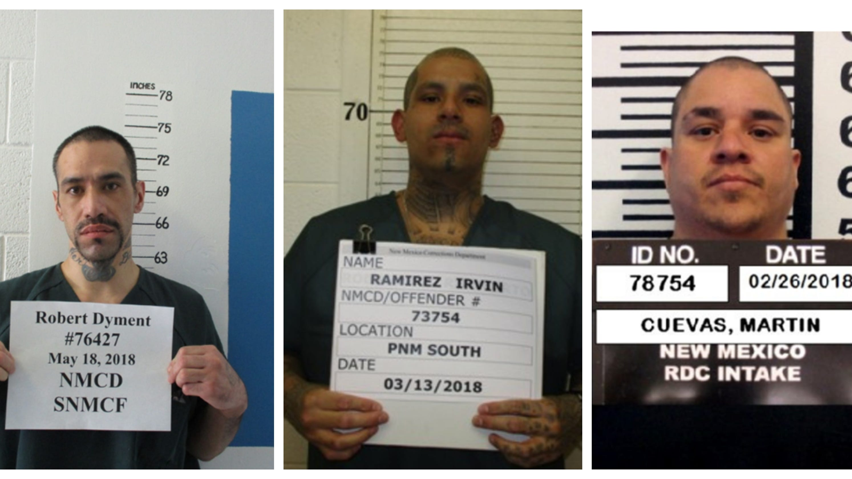 New Mexico inmates charged with attempted murder after