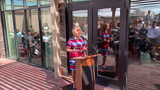 At the grand opening of the Courtyard Marriott in Las Cruces on July 18, Gov. Michelle Lujan Grisham talked about career opportunities for students.