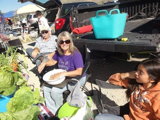 A farmers and artisans market in Ruidoso Downs creates an outlet for several home-based businesses.