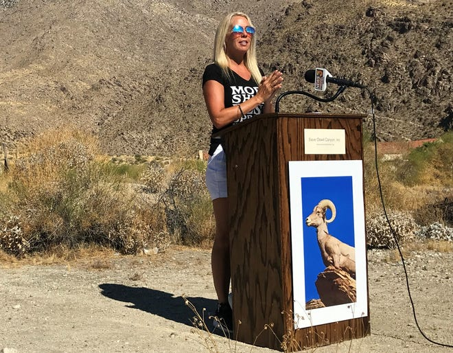 Jane Garrison, president and founder of Save Oswit Canyon, discusses the group's effort to raise $1 million needed to purchase the land and preserve it as open space.
