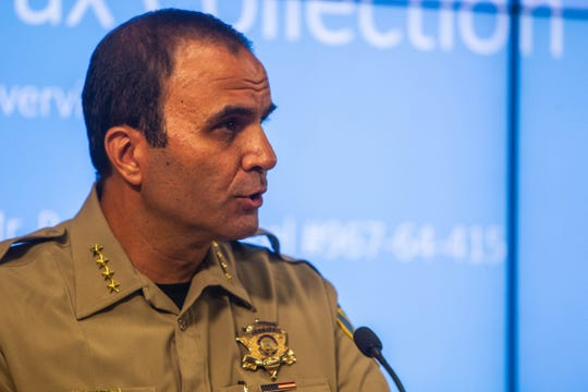 Maricopa County Sheriff Paul Penzone.