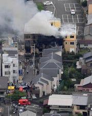 Incendio en estudio Anime en Japón deja decenas de muertos.