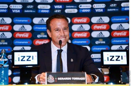 Gerardo Torrado, director deportivo de la Selección Mexicana de Futbol.
