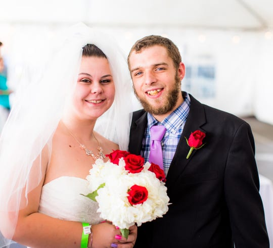 Austin Wright Brianna Strayer and Austin Wright of Spring Grove got hitched on July 13 in Pittsburgh along with several other couples, all paid for by Primanti Bros.