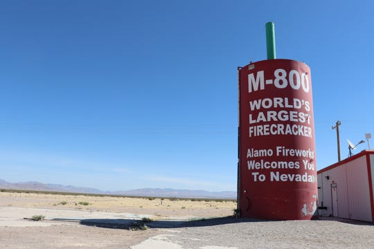 This is the Amargosa Valley, a far-flung fill-up spot in the Nevada desert where more than 1.7 millions Facebook users have RSVP'd to raid Area 51.