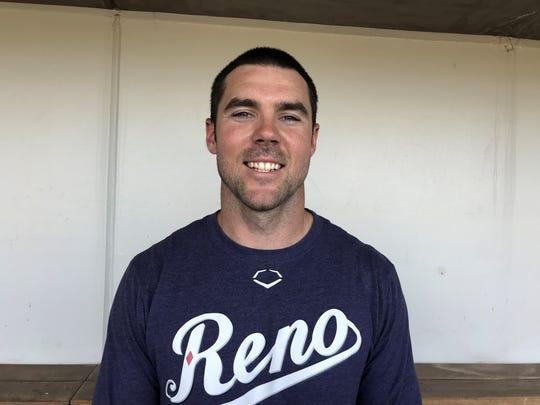 Reno Aces outfielder Matt Szczur.
