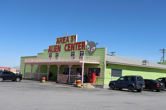 """Ground zero of the forthcoming Area 51 """"raid"""" event plans in Amargosa Valley, Nev."""