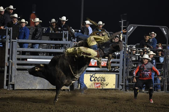 Photos from the Professional Bull Riding (PBR) event June 17, 2019 at the 109th California Rodeo Salinas.