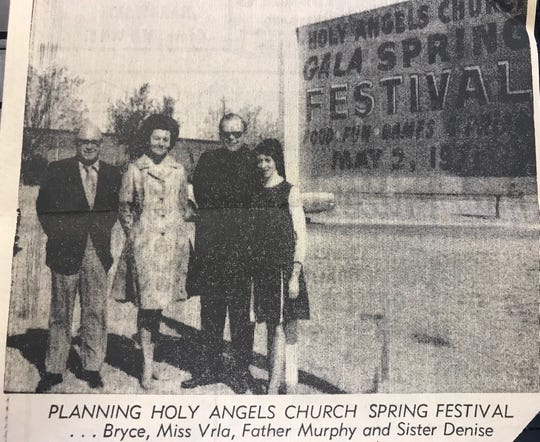 Attending the spring festival held by Holy Angels Parish in San Angelo is an annual tradition dating back to 1963.