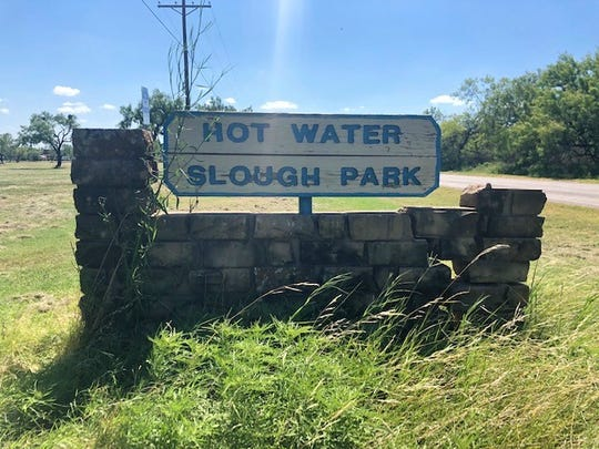 Hot Water Slough Park, 2375 Red Bluff Road, offers picnic areas, restrooms and a playground.