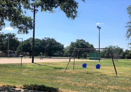 Brown Park, 2411 W. Twohig Ave., offers grills, a multi-use court, picnic space and a playground.