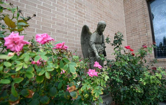 The Garden of Grace at Holy Angels Parish in San Angelo offers a quiet place for reflection in the College Hills neighborhood, which the church has been serving since 1961.
