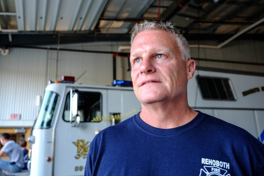 Kent Swarts of Rehoboth Beach Fire Department says funding and volunteer shortages are both issues for the fire service.