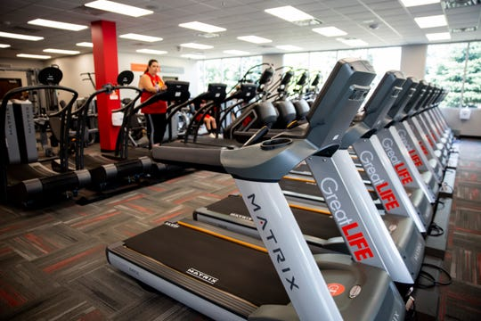 GreatLife Fitness houses many cardio machines at their new location on South Seratoma Avenue in Sioux Falls.