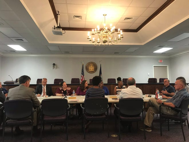 Waynesboro City Council and School Board members met Wednesday to introduce the beginnings of a five-year operational/capital improvement strategy.