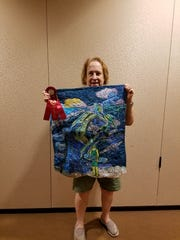 "Leslie Cohen is part of the Studio Art Quilt Associates ""Perspectives"" exhibit at LeMoyne Arts."