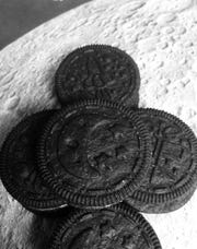 Oreo has launched special cookies to coincide with moon landing anniversary.
