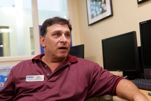 Kearney Center Food Services Director Bill Schack talks about how it feels to have served the first and the millionth meal at Tallahassee's shelter Thursday, July 18, 2019.