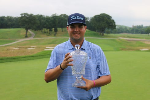 Winged Foot assistant professional Mike Ballo won the New York State Open at Bethpage Black in a playoff.