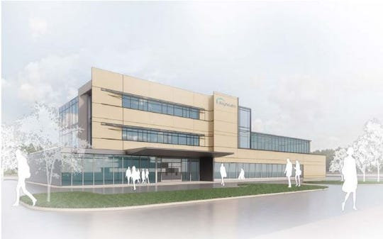 A rendering of what Bayhealth's freestanding emergency department would look like.