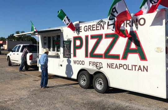 The Green Inforno closes up during football season, but serves pizzas to Seymour residents on Wednesdays.